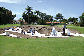 Rebuilding bunkers is expensive,